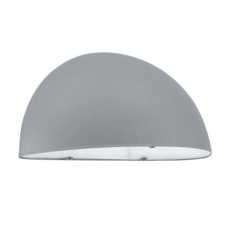EGLO 90866 - LEPUS kültéri fali lámpa 1xE27/40W ezüst/fehér