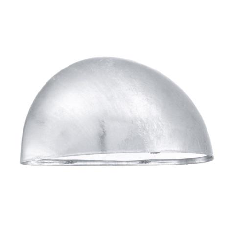 EGLO 90867 - LEPUS kültéri fali lámpa 1xE27/40W horganyzott acél