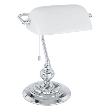 EGLO 90968 - BANKER asztali lámpa  1xE27/60W