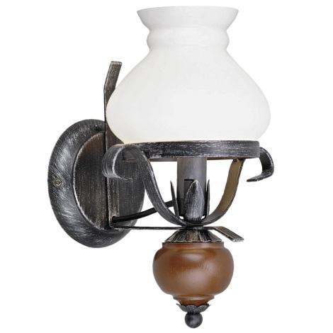 Eglo 91031 - Fali lámpa RUSTIC 7 1xE14/60W/230V