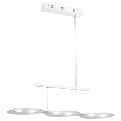 EGLO 91078 - FELITTO LED-es függeszték állítható 6xLED/4,76W fehér