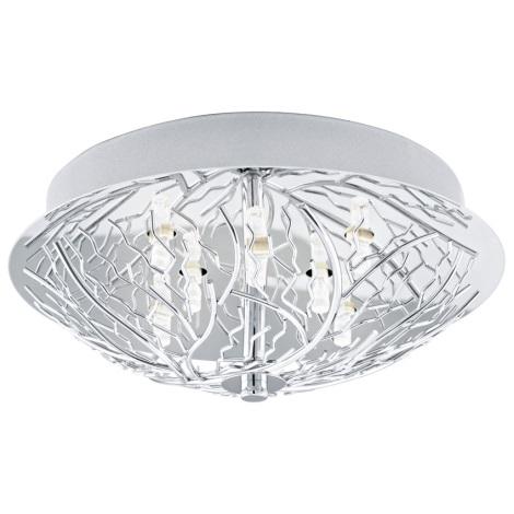 EGLO 91085 - CROMER mennyezeti lámpa 8xG9/18W