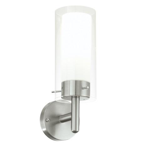 EGLO 91111 - FOSSALTA kültéri fali lámpa 1xE27/15W fehér