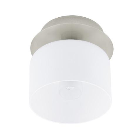 EGLO 91194 - BANTRY fali/mennyezeti lámpa 1xG9/40W matt nikkel/opálüveg