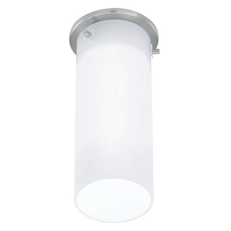 EGLO 91202 - Fali mennyezeti lámpa  BANTRY 1xG9/40W matt nikkel/opál