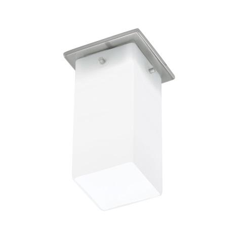 EGLO 91204 - BANTRY fali/mennyezeti lámpa 1xG9/40W matt nikkel/opál