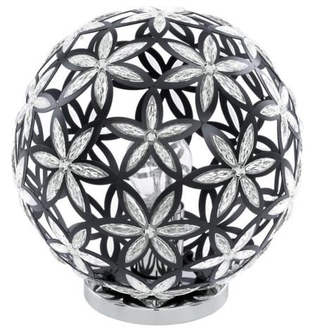 Eglo 91277 - Dekoratív lámpa SILVESTRO E27/60W/230V