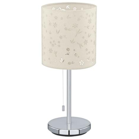 Eglo 91395 - Asztali lámpa CHICCO 1 1xE27/60W/230V