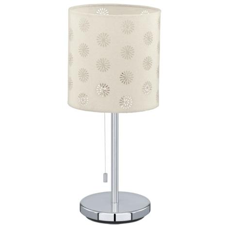 Eglo 91396 - Asztali lámpa CHICCO 1 1xE27/60W/230V