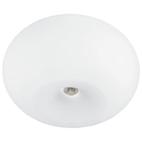EGLO 91418 - GALAXIA LED-es mennyezeti lámpa 2xE27/18W+1xLED RGB 17W  fehér opálüveg