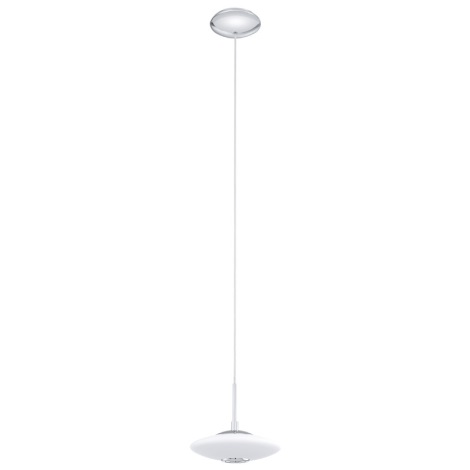 EGLO 91593 - MELINA függeszték 1xG9/40W fehér opálüveg