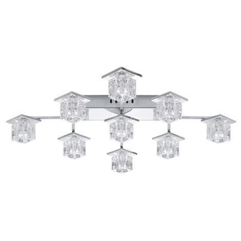 EGLO 91601 - LED Mennyezeti lámpa KALINDA 1 9xG4/20W+36xLED/0,05W
