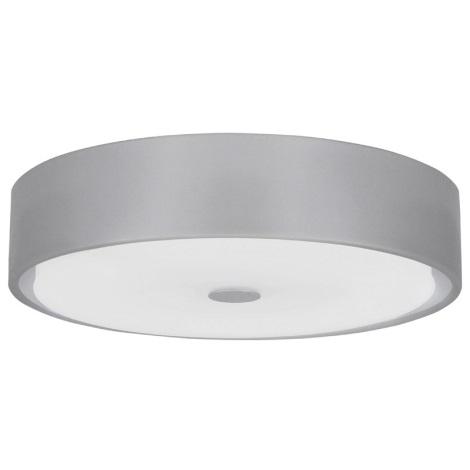 EGLO 91604 - CORONA 1 mennyezeti lámpa 1x2GX13/55W+1xLED/8,64W ezüst