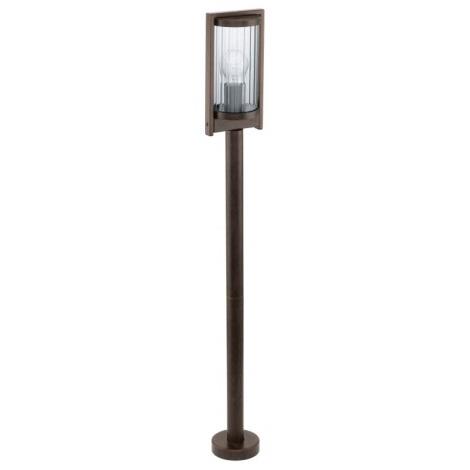 EGLO 91643 - BAGAOS kültéri lámpa 1xE27/60W antik barna