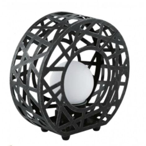 EGLO 91659 - JABAL kültéri lámpa 1xG9/40W fekete