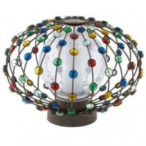EGLO 91716 - CADELLA kültéri lámpa 1xE27/22W barna