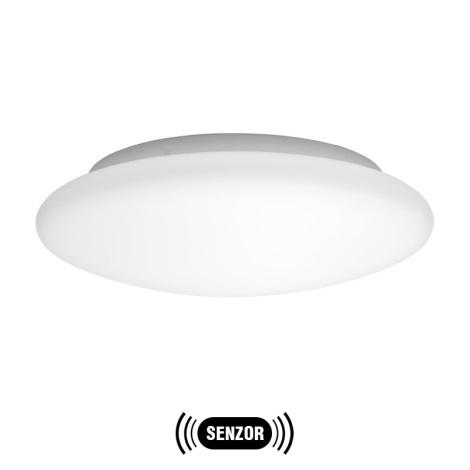 EGLO 91718 - BARI 1 LED-es szenzoros  fali/mennyezeti lámpa 1xLED/18W fehér opálüveg