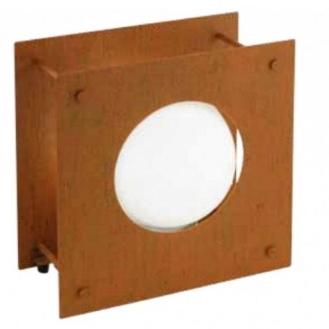 EGLO 91722 - HAAKON 1 kültéri lámpa 1xE27/22W rozsdavörös