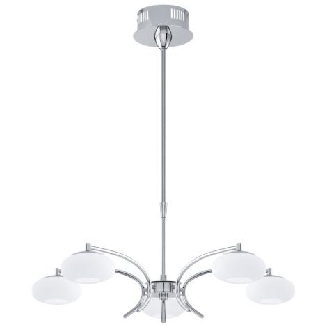 EGLO 91753 - ALEANDRO LED-es csillár 5xLED/6W