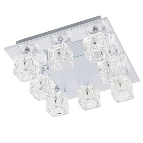 EGLO 91977 - TANGA 2 mennyezeti lámpa 8xG4/20W+LED/1,92W