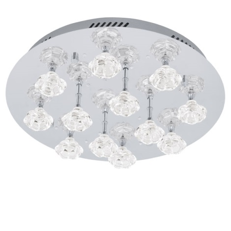 EGLO 91982 - FELICINO LED-es mennyezeti lámpa 12xG4/10W+1,92W LED