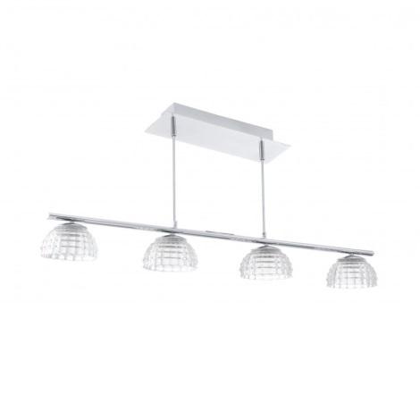 EGLO 92218 - LED Mennyezeti függesztékes lámpa FROSSINI 4xLED/6W/230V