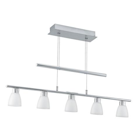 Eglo 92226 - LED Mennyezeti függesztékes lámpa TUFARA 5xLED/2,4W/230V