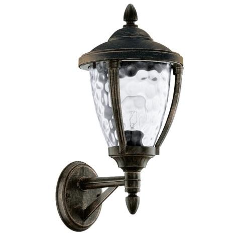 EGLO 92232 - ABIRA kültéri fali lámpa 1xE27/60W