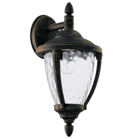 EGLO 92233 - ABIRA kültéri lámpa 1xE27/60W antik barna