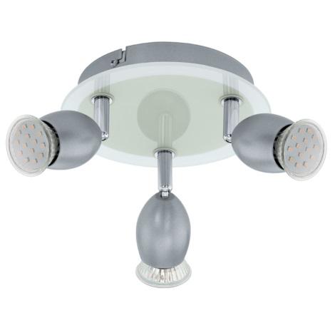 EGLO 92634 - LEONESSA mennyezeti lámpa 3xGU10/3W