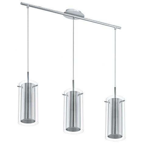 Eglo 92846 - Függesztékes lámpa TAROLO 3xE27/60W/230V