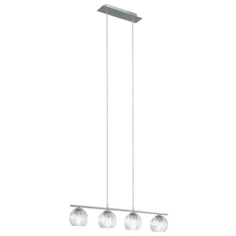 EGLO 92852 - Mennyezeti függesztékes lámpa CIVO 4xG9/33W