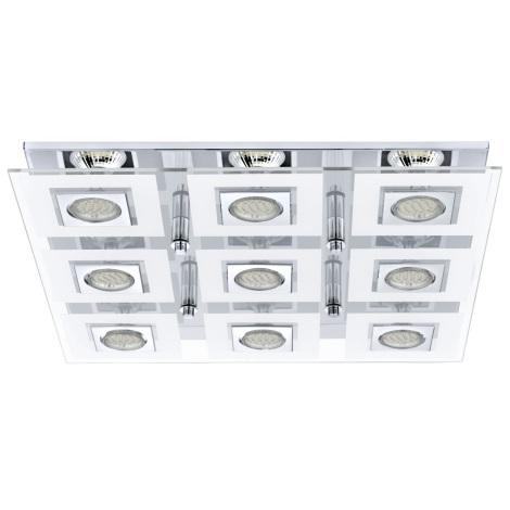 Eglo 92877 - LED mennyezeti lámpa CABO 9xGU10/3W/230V