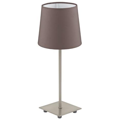Eglo 92882 - Asztali lámpa LAURITZ 1xE14/40W/230V