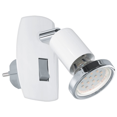 Eglo 92925 - LED konnektoros lámpa MINI 4 1xGU10-LED/3W/230V
