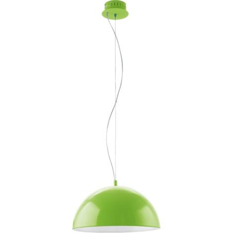 EGLO 92953 - GAETANO LED-es függeszték LED/18W zöld