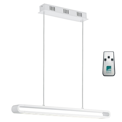 Eglo 93006 - LED függeszték PERILLO LED/24W + LED-RGB/7W/230V
