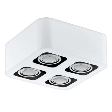 Eglo 93013 - LED Mennyezeti lámpa TORENO 4xGU10-LED/5W/230V