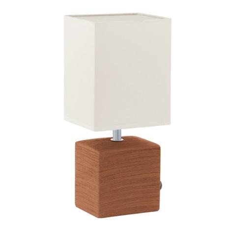 EGLO 93045 - Asztali lámpa MATARO 1xE14/40W