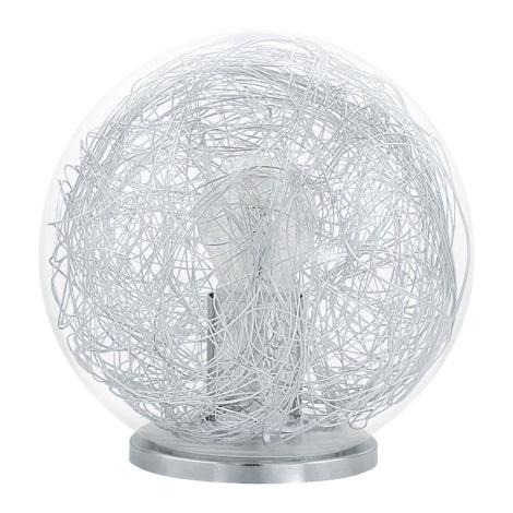 Eglo 93075 - Asztali lámpa LUBERIO 1xE27/60W/230V