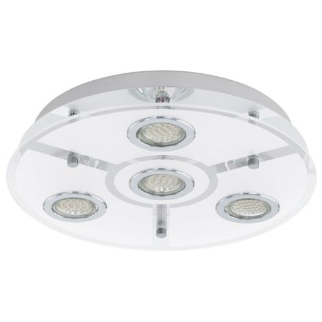 EGLO 93107 - CABO LED-es mennyezeti lámpa 4xGU10/3W LED