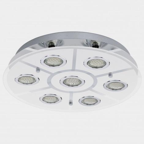 EGLO 93108 - CABO LED-es mennyezeti lámpa  7xGU10/3W