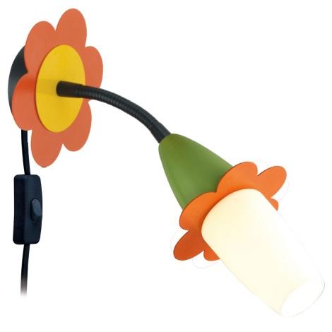 EGLO 93183 - VIKI 2 LED-es gyerek spotlámpa 1xE14/4W LED