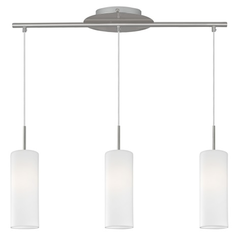EGLO 93195 - TROY 4 LED-es függeszték  3xE27/7W