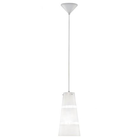 EGLO 93202 - LED-es függesztett lámpa fekete 1 2xE27/7W/230V