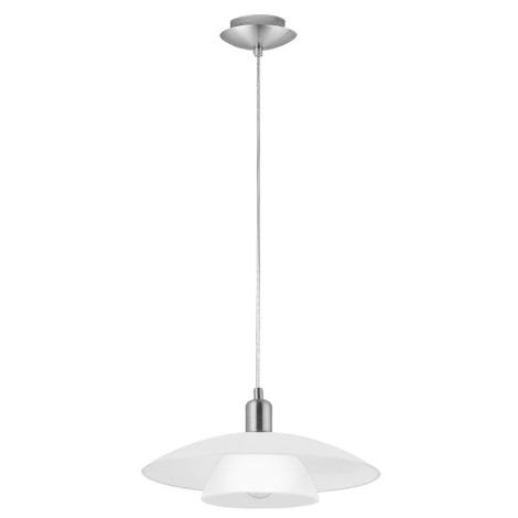 EGLO 93204 - BRENDA 2 LED-es függeszték 1xE27/7W LED