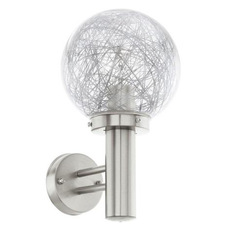 Eglo 93366 - Kültéri fali lámpat Nisia 1 1xE27/60W/230V