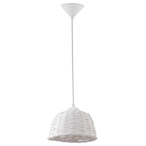 Eglo 93371 - Csillár CAMPILO 1 1xE27/60W/230V fehér