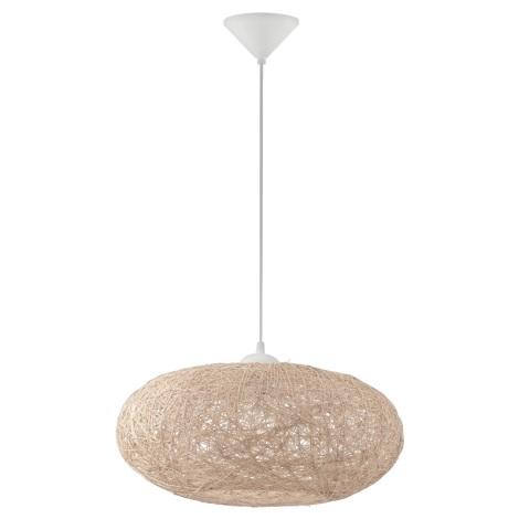 Eglo 93374 - Mennyezeti függesztékes lámpa CAMPILO 1xE27/60W/230V