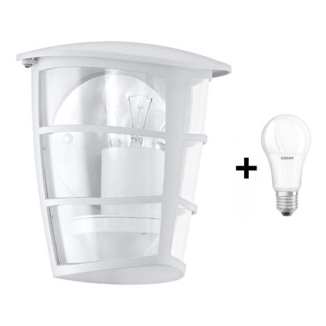 Eglo 93403 - Kültéri fali lámpa ALORIA 1xE27/60W/230V